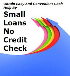 Choose wonderful cash relief when you are in cash crisis sitauion and having not enough money to handle them perfectly .apply here for small loans no credit check help by quick loans fee .This is the right way to catch money aid in sudden cash emergency time via online way.