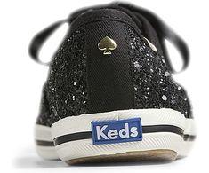 Women - Keds x kate spade new york Champion Glitter - Glitter Black | Keds