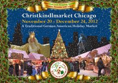 It's almost time! Christkindlmarket is Chicago's largest open-air Christmas market, celebrating German and European traditions. Chicago Christmas Tree, Christmas In America, Merry Christmas And Happy New Year, Christmas Holidays, Christmas Markets, Christmas Decorations, Chicago Map, Chicago Travel, Chicago Shopping