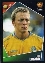Erik Edman of Sweden. Uefa Champions League, Fifa, European Championships, Tottenham Hotspur, World Cup, Sweden, Portugal, Baseball Cards, Country