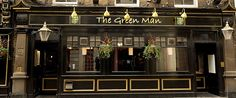 The Green Man. London.Berwick Str. Fine Ale!