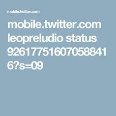 mobile.twitter.com leopreludio status 926177516070588416?s=09