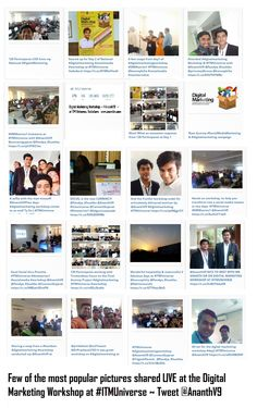 18 lac plus impressions #ITMUniverse #DigitalMarketing #workshop by @AnanthV9