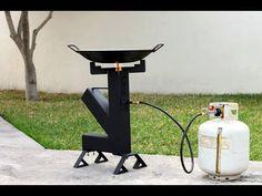 Bbq Grill, Grilling, Diy Storage Trunk, Rocket Stove Design, Diy Rocket, Rack Tv, Metal Bending, O Gas, Rocket Stoves