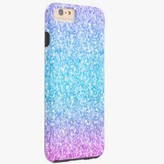 iPhone 6 Plus Cases | Colorful Retro Glitter And Sparkles Tough iPhone 6 Plus Case