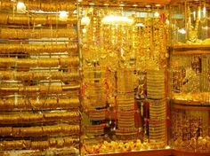 Dubai gold shop #Gold