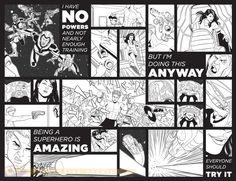 Jamie McKelvie - Young Avengers (interior art)