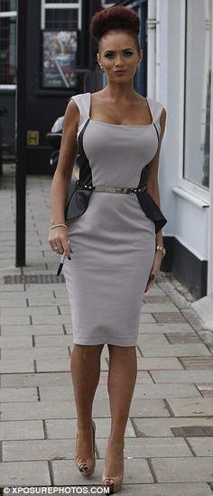 Love the look minus the nude heels