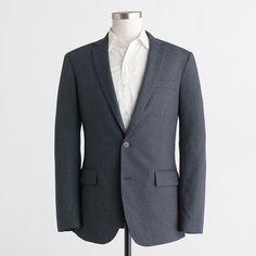 Factory Thompson blazer in microdot cotton | J.Crew Factory