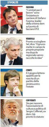 Informazione Contro!: Fassina, Civati, Landini l'arcipelago anti Renzi a...