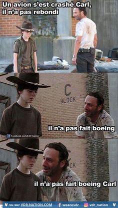 Rick Grimes from The Walking Dead tells the best dad jokes - Gallery Walking Dead Funny, Walking Dad Jokes, Walking Dead Coral, Carl The Walking Dead, The Walk Dead, Rick Grimes, Twd Memes, Funny Memes, It's Funny
