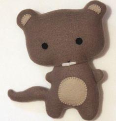 Peluche toute douce Petite Marmotte : Jeux, peluches, doudous par roz-redvolt