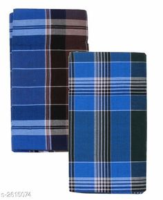 Dhotis, Mundus & Lungis Men's Cotton Lungis (Pack Of 2) Fabric: Cotton Size: 2.25 Mtr Description: It Has 2 Pieces Of Men's Lungis Pattern: Checkered  Sizes Available: Free Size *Proof of Safe Delivery! Click to know on Safety Standards of Delivery Partners- https://ltl.sh/y_nZrAV3  Catalog Rating: ★4.1 (864)  Catalog Name: Trendy Men's Cotton Lungis Combo Vol 4 CatalogID_353285 C66-SC1204 Code: 403-2615074-