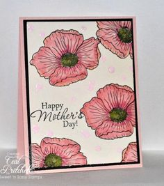 Mother's Day Splatter by simplybeautiful - Cards and Paper Crafts at Splitcoaststampers