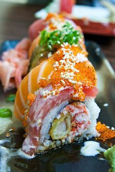 "tammyanndo: "" I've beeen craving sushi for sooo longgg. I need to find myself a sushi budddy Think Food, I Love Food, Good Food, Yummy Food, Tasty, Sushi Recipes, Asian Recipes, Cooking Recipes, Healthy Recipes"