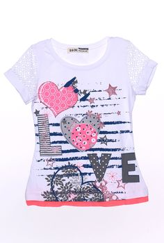Çocuk kız t-shirt-806