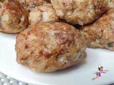 Cooking recipe or subject on Yume . Meat Recipes, Cooking Recipes, Healthy Recipes, Polpette Recipe, Granola, Minced Meat Recipe, Actifry Recipes, How To Cook Beef, Fish And Meat