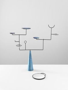 inspiration-is-all-around:  Faye Toogood - Alter Piece Steel, Patinated Sand-Cast Bronze, Iridescent Glass 2011, Edition of 8 + 2 AP (via Design Bureau Triumvirate by Phillips de Pury & Company)