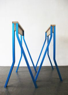 Hay Tischböcke hay for hay trion table trestles design dining rooms