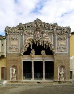Grotto of the Pitti Palace, Florence, Italy