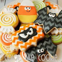 Last picture of my Halloween cookies...I promise! I'm just so glad they are all…
