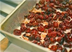 Sugar Free Oven Dried Cranberries. It's so easy to make your own dried cranberries--why buy plastic-y, sugar-laden ones?