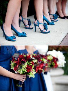 Enchantment Lilies, Calla Lilies, Hydrangea, Hypericum Berry, Cymbidium Orchids, Peacock Feathers
