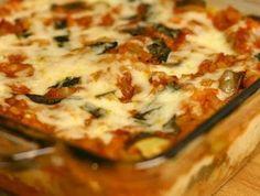 lentil and vegetable lasagna