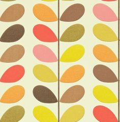 Multi Stem (110386) - Orla Kiely Wallpapers - backwall downstiars basement,,media wall