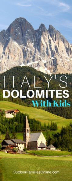 Italy's Dolomites are known as Italy's alpine playgrounds, and despite high altitudes and rugged landscape, families can and do enjoy hikes together.