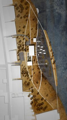 Site Plan for a Wetlands Research Center