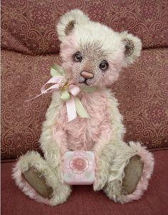 Vintage look teddy bear. I want it and I don't even really like teddy bears My Teddy Bear, Cute Teddy Bears, Charlie Bears, Boyds Bears, Love Bear, Bear Doll, Bear Art, Cuddling, Plush