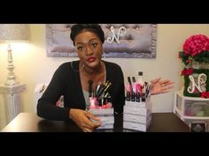 DIY DOLLAR TREE  BLING Stackable Acrylic Drawers Organizer | Vanity Drawer Stand | Makeup Stand - YouTube