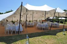 Stretch/Capri Tent -Different types of Wedding Marquee & Tent via The Outside Bride website. Marquee Wedding, Tent Wedding, Hotel Wedding, Wedding Prep, Casual Wedding, Wedding Planning, Marquee Decoration, Tent Decorations, Moroccan Tent