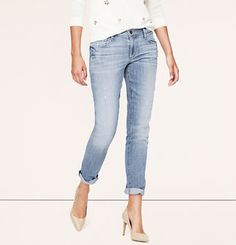 Relaxed Skinny Jeans in Supreme Blue Wash