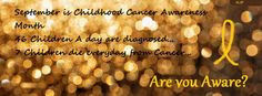 Pediatric Cancer Awareness Month is September...It's also when we lost our sweet girl, Cora - 09.05.12.  Miss you so much, sweet girl.  I'll never stop fighting for you.