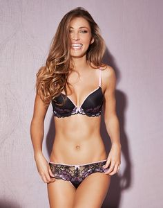 Cheyenne Black Plunge Bra - Perfect for a lacey lift! #AdoreMeSpringFling http://adore.me/SpringFlingPin