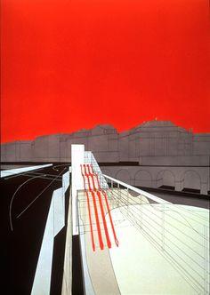 Bridge City  Lausanne, 1988 - Tschumi