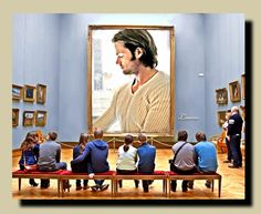 """This is my """"Mental Art Gallery""""! I've ALWAYS loved this pic of Jared :-)"""