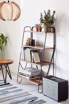 Max Wood Bookshelf - Urban Outfitters :: $189
