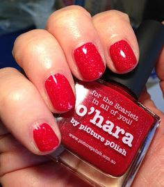 piCture pOlish O'Hara swatched by Polished Marvels! WOW!