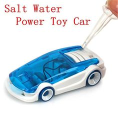 Learning and Education toys Green Energy DIY Science Toy Kits Funny Toys Salt Water Fuel Cell Car Sets EC00125 ** Click image to review more details.