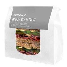 White Kraft Sandwich/Cookie Bag PP Window