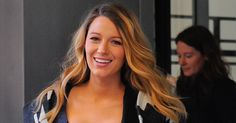 Blake Lively is has dark roots because she stopped dyeing her hair blonde while pregnant.