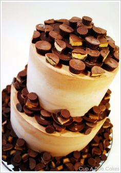 Peanut Butter Cup Cake from Half Baked.