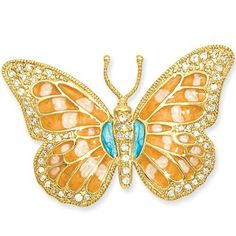 Gold Plated Enameled Cubic Zirconia Pin by Kelly Waters Kelly Waters. $76.00. Lifetime Guarantee Card. Kelly Waters Jewelry Packaging. Save 45%!