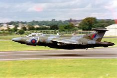 Military Jets, Military Weapons, Military Aircraft, Fighter Aircraft, Fighter Jets, Blackburn Buccaneer, Vintage Airplanes, Royal Air Force, Air Show