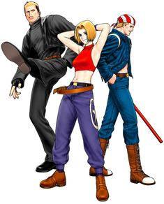 Special Team from The King of Fighters '98: Ultimate Match