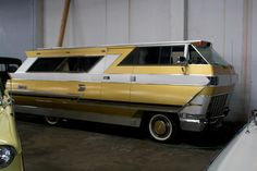 Vintage camper. I don't know what it is, but it is awesome!