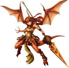 No.299 龍裔 ‧ 梅格蘭斯 Magness the Dragonborn  #神魔之塔 #神魔_妖女